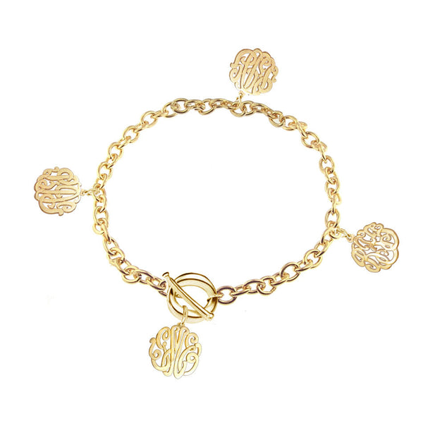 Keti Sorely Designs Family Monogram Bracelet Apparel & Accessories > Jewelry > Bracelets - 2