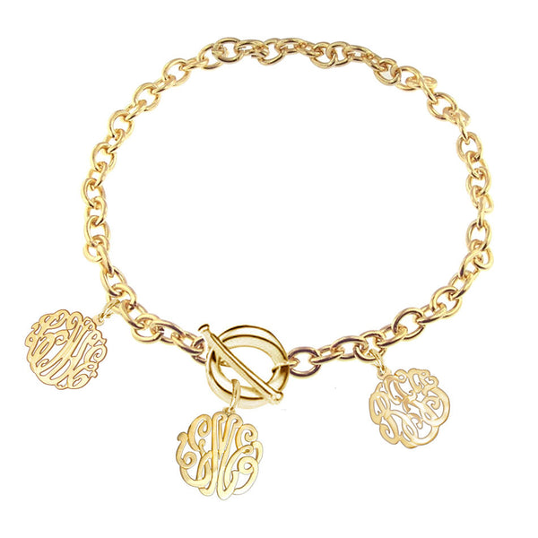Keti Sorely Designs Family Monogram Bracelet Apparel & Accessories > Jewelry > Bracelets - 3