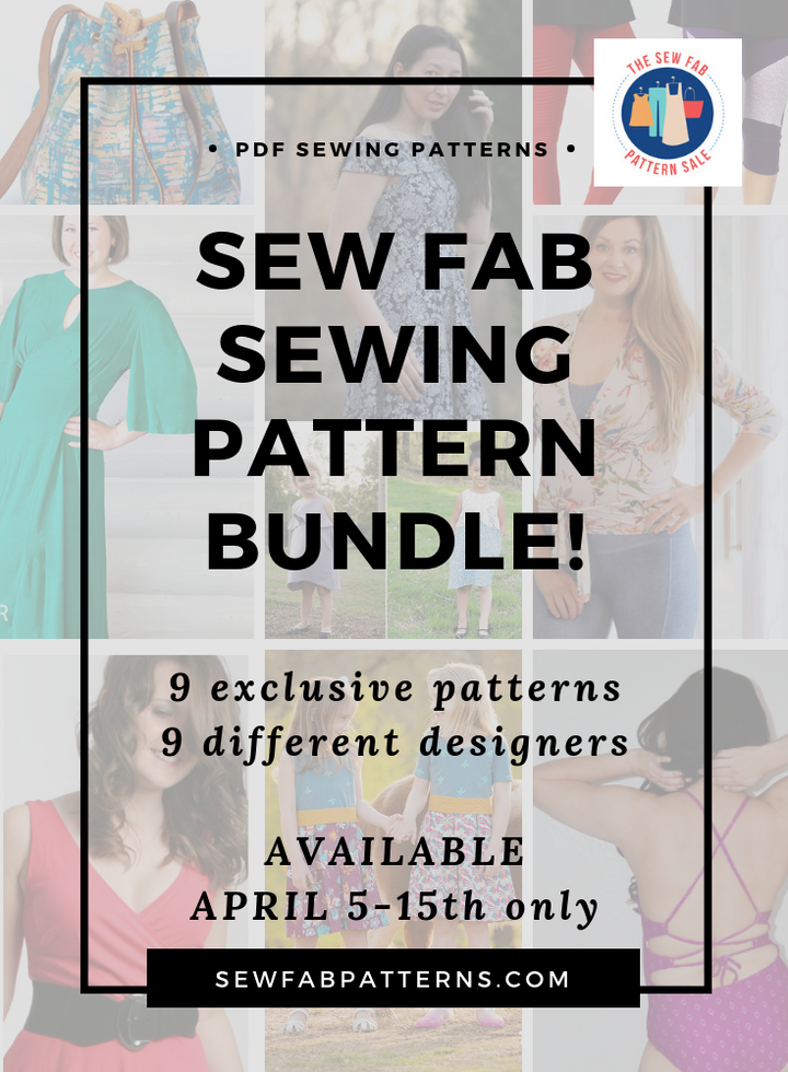 Sew Fab Sewing Pattern Bundle - Spring 2019