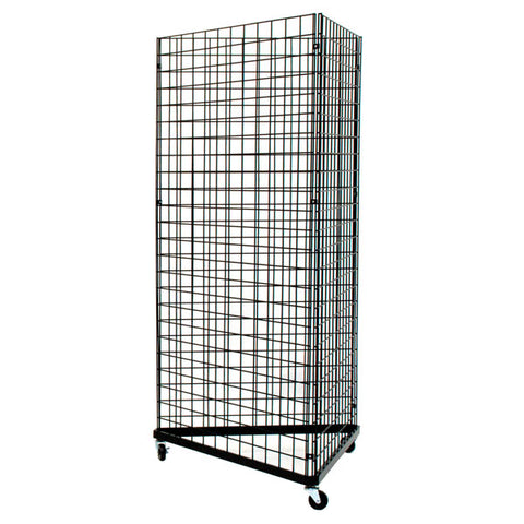 "Grid Triangle Unit, 78"" High w/ 36"" Sides"
