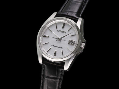 THE CITIZEN Eco-Drive AQ4020-03A / Japanese traditional paper dial Made in Japan - seiyajapan.com