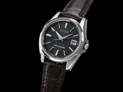 THE CITIZEN Eco-Drive AQ4020-03E / Japanese traditional paper dial Made in Japan - seiyajapan.com