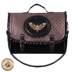 Steampunk Bag | Butterfly Collector Bag | Victorian Bag | Alternative Bag | Brown Steampunk Bag | Moth Bag