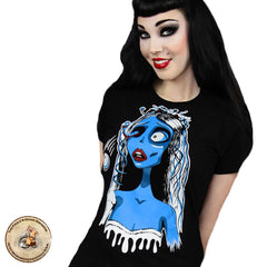 Gothic T-Shirt | Corpse Bride T-Shirt | Corpse Bride Top | Creepy Bride T-Shirt