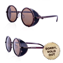 Holbeck Steampunk Vintage Sunglasses (SOLD OUT)
