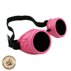 Pink Steampunk Goggles | Steampunk Goggles | Cyber Goggles