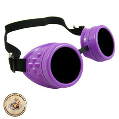 Purple Steampunk Goggles