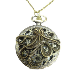 Steampunk Clockwork Pocketwatch | Steampunk necklace