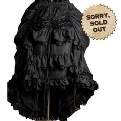 Lady Verity Victorian Steampunk Skirt
