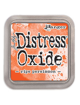 Distress Oxide Pad 3 X 3 - RIPE PERSIMMON