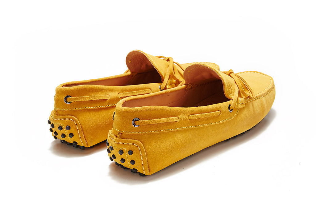 Santorini - Canary Suede *LIMITED EDITION*