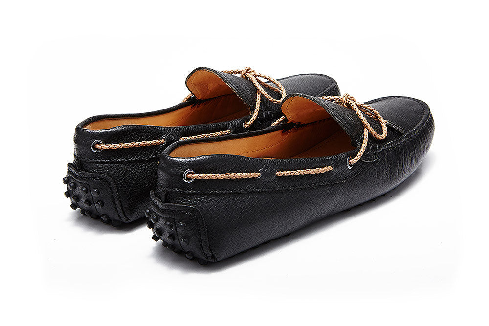 St.Tropez - Black Pebble Leather *LIMITED EDITION*
