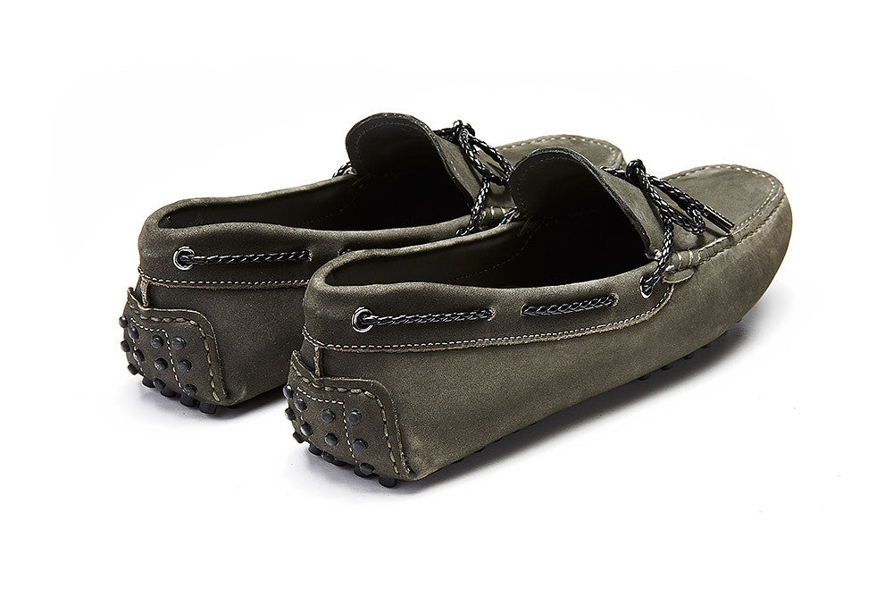 St.Tropez - Grey Coal Leather