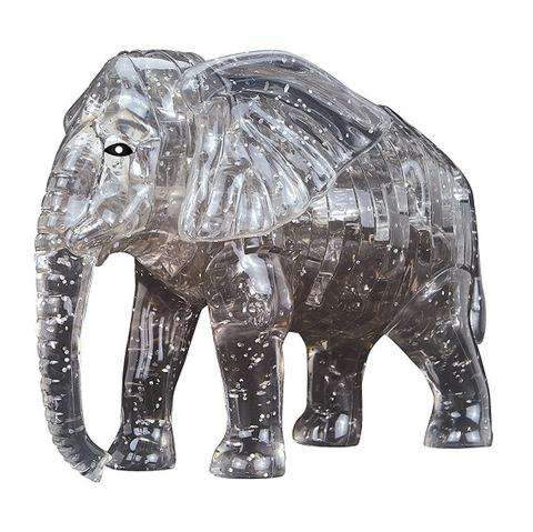 3D crystal elephant puzzle. 3D Jigsaw Puzzles gifts for kids