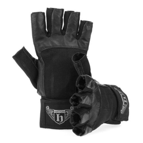 Hatton Boxing ~ Leather Weight Training Gloves