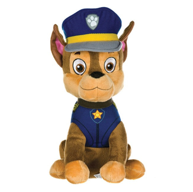 Sitting Paw Patrol 'Chase' Soft Plush Toy 27cm