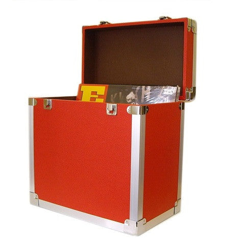 Steepletone SRB 12 inch LP Storage Case - Red