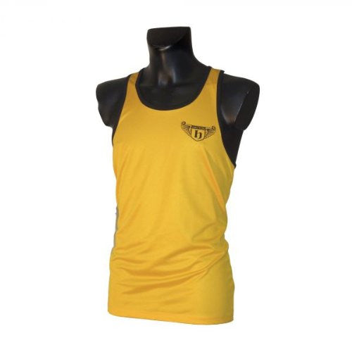 Hatton Boxing Polyester Boxing Club Vest - Gold/Black