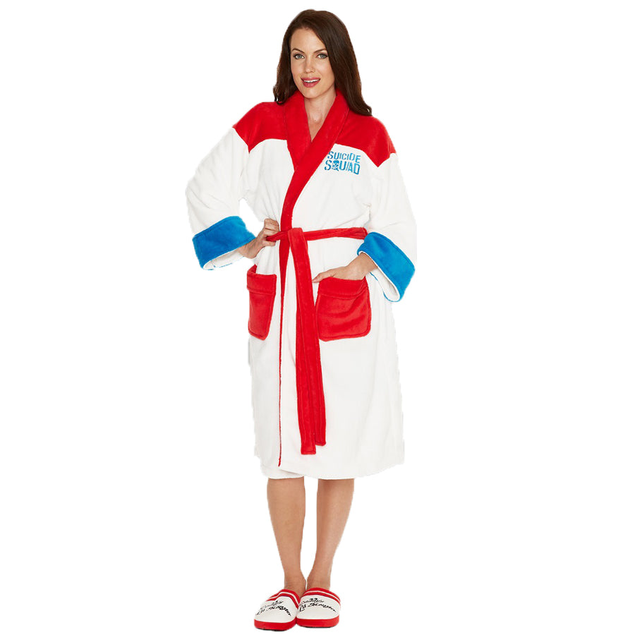 Suicide Squad Harley Quinn Women's Bathrobe Dressing Gown
