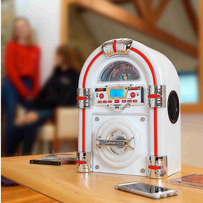Table jukebox is a great gift for him, gift for her or gadget gifts for men