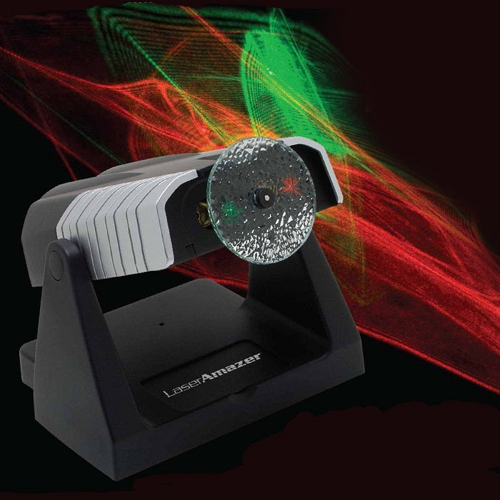Laser Amazer Projection Light Show by Funtime Gifts Lights