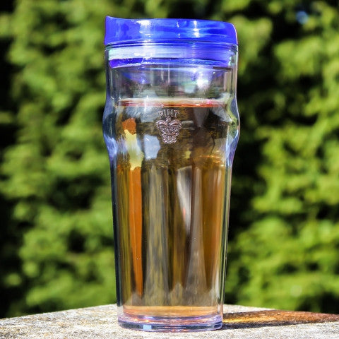 blue pint2go beer glass is a great gift for him or gadgets gifts for men