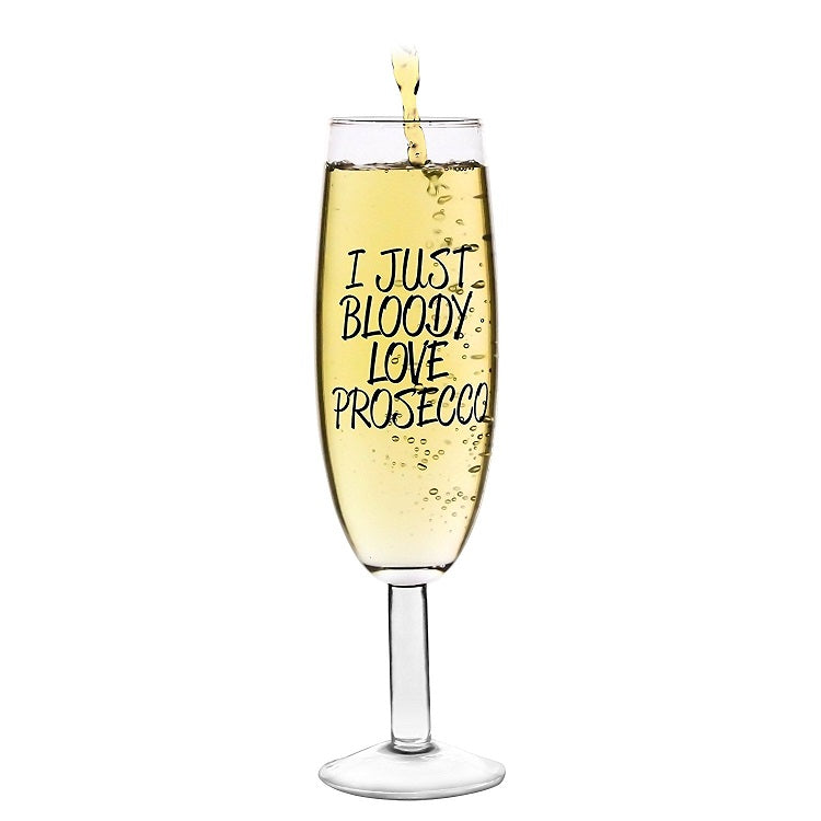 I Just Bloody Love Prosecco Giant Glass