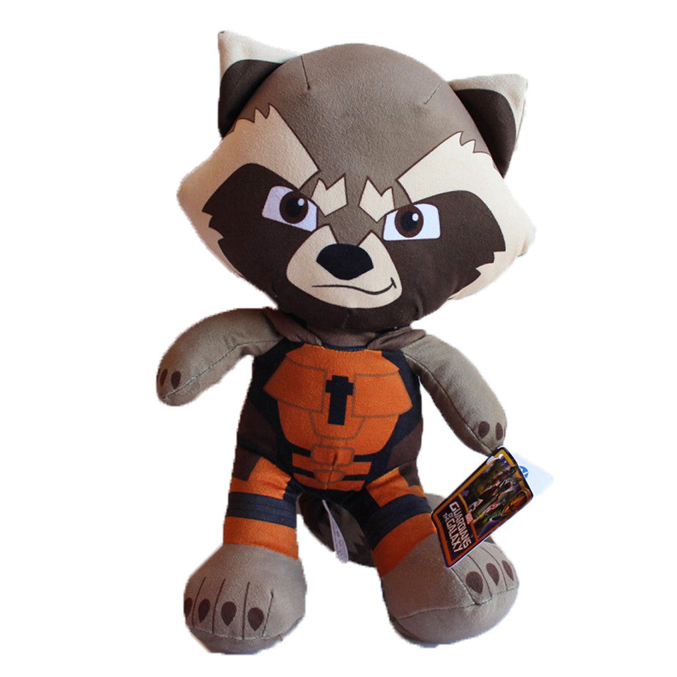 "Guardians Of The Galaxy Raccoon 12"" Plush Soft Toy"