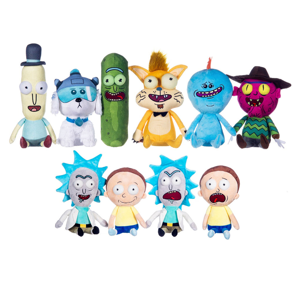 Rick & Morty Character Soft Plush Toy