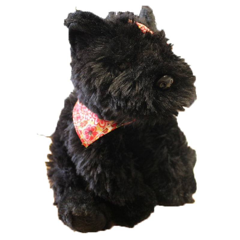 Black Scottie Dog Plush Toy