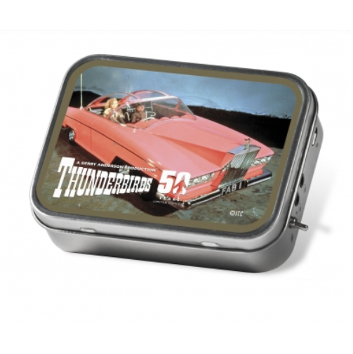 Tinamps Portable Speaker in Tin - Thunderbirds FAB1