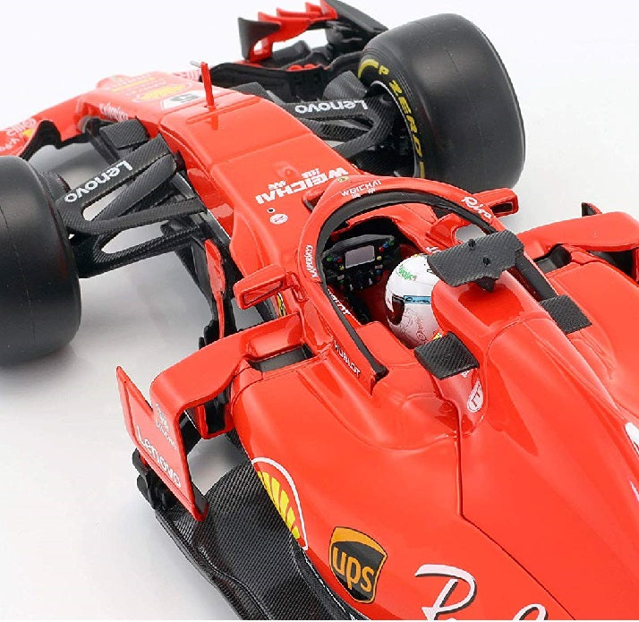 Ferrari SF71-H 1:18 Scale Vettel 2018 Season Top