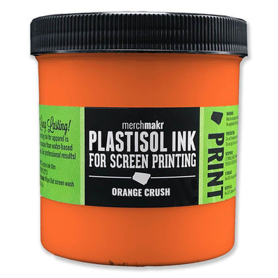 Orange Crush 165 Merchmakr Plastisol Ink for Screen Printing