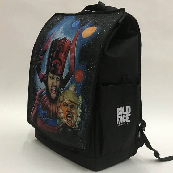 Galactus Destroys Planet Trump Backpack