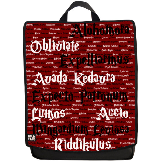 Spells for Wizards and Witches Backpack (Red)