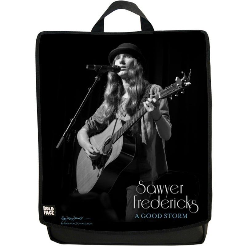 2-Pack (Black/White) - Sawyer Fredericks Backpack with 2 Faces