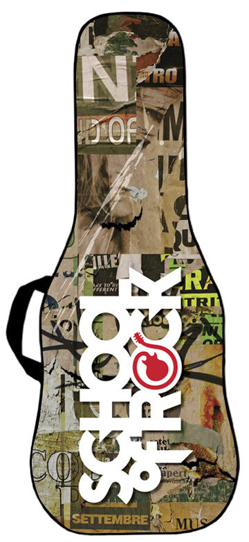 School of Rock - Billboard Guitar Bag Face Panel