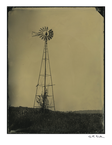 Past Winds | Tintype Reproduction