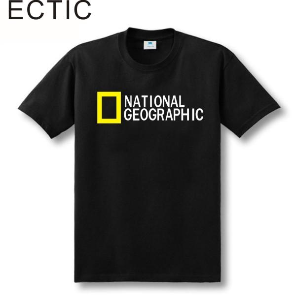 Camiseta de National Geographic expedition para hombres manga corta.