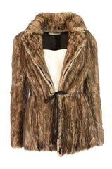 F/W 2002 Prada Runway Look 32 Documented Mink Fur Jacket