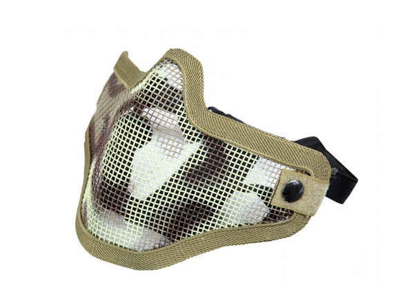 Killhouse Steel Half-Face Mask - Desert - Niagara Quartermaster