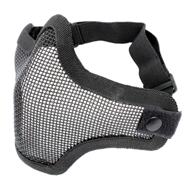 Killhouse Steel Mesh Half-face Mask - Black - Niagara Quartermaster