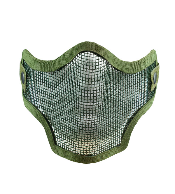 Valken Tactical 2G Wire Mesh Tactical Mask - OD - Niagara Quartermaster