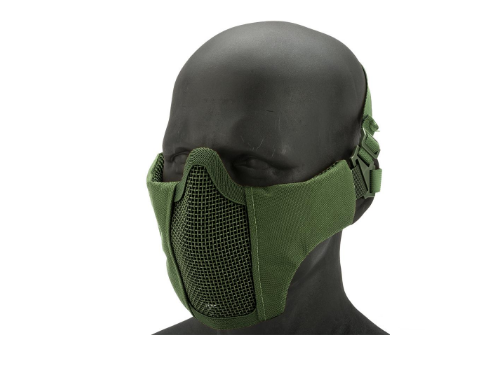Matrix Low Profile Iron Face Padded Lower Half Face Mask - Niagara Quartermaster