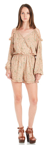 ABIGAIL COLD SHOULDER ROMPER
