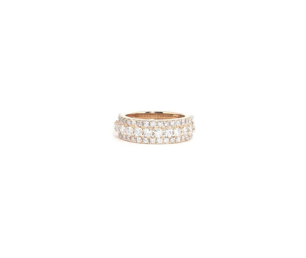 Tier III Band Mens Diamond Eternity