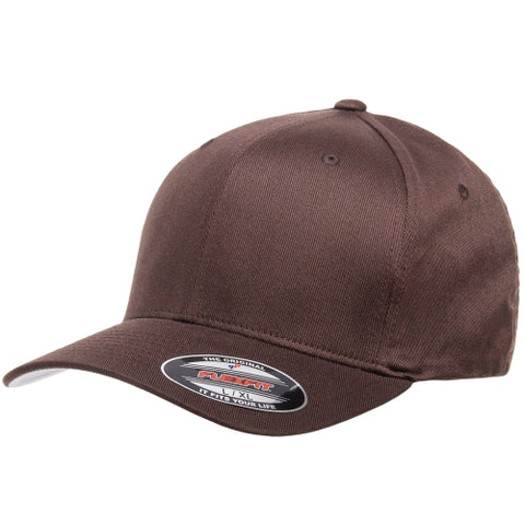Flexfit Wooly Combed Twill Cap Brown