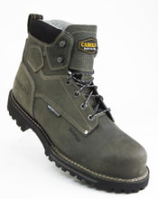 Load image into Gallery viewer, Carolina CA7532 Pitstop Green Leather Waterproof Composite Toe EH Rated Work Boot