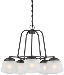 0-016708>Mason 5-Light Chandelier Satin Bronze