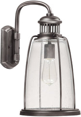0-021738>16 inchh Harbour 1-Light Outdoor Wall Lantern Graphite
